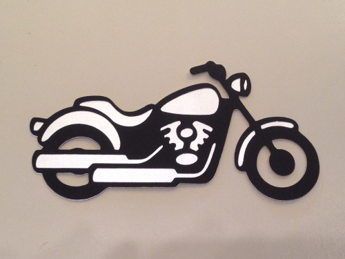 Foil motorcycle embellishment